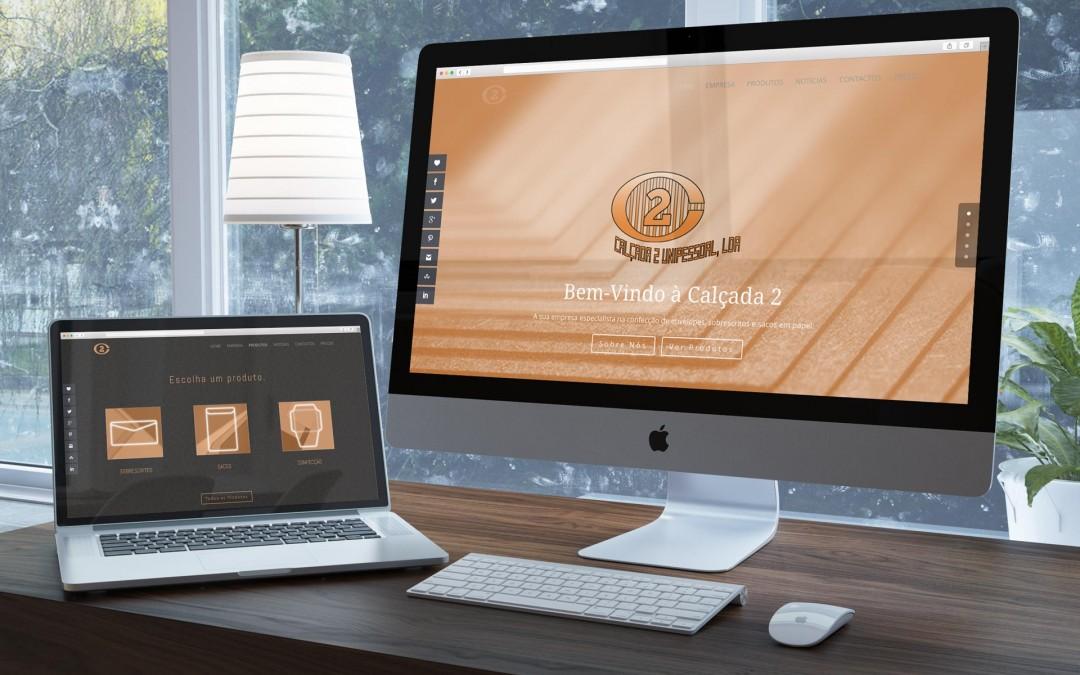 Novo website Calçada2